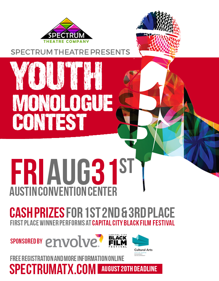youth monologue contest at cap city bff 2018