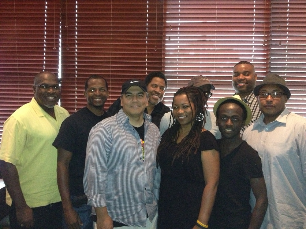 From Left To Right:  Front Row -   Winston G. Williams , Jonathan Mayberry , David Avila , C. Mikki , Moyo Oyelola , Darryl L. Johnson Back Row - Harrell D. Williams, Sr. , Collin I. Aki , Prince Camp