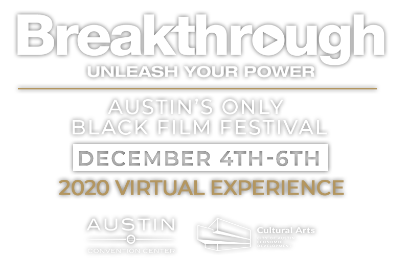 Capital City Black Film Festival 2020 Logo Breakthrough Unleash Your Power